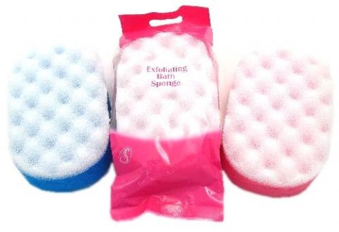 Serenade - Exfoliating Bath Sponge (Pack of 6 Mixed Colours)